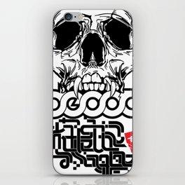 Decoy skl iPhone Skin