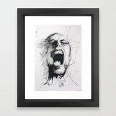 Jay Freestyle - Rage Framed Art Print