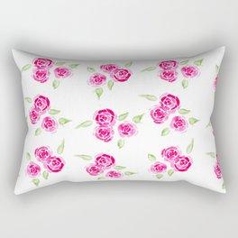 Cheerful Rose Rectangular Pillow