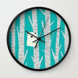 Lonesome Koala Wall Clock
