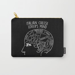 Italian Cheese Lover's Mind And Italy Carry-All Pouch