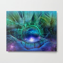 Portal of Chill Metal Print