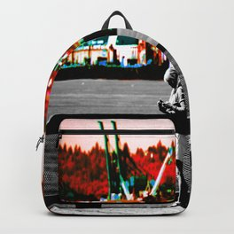 Living in the Gray World Backpack