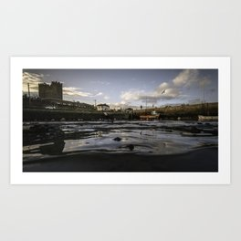 Bullock Harbour Art Print