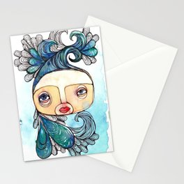 Watergirl Stationery Cards