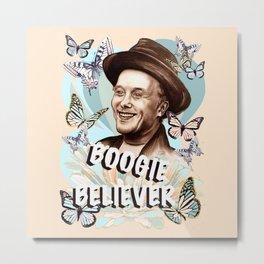 Mark Boogie Believer Metal Print