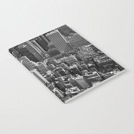 Manhattan in monochrome Notebook