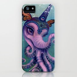 The Magical Butter Octophant iPhone Case