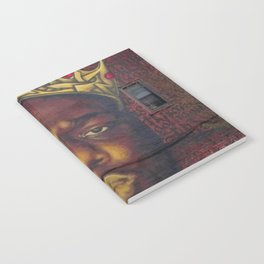 "African American 'King of New York', Bedford–Stuyvesant ""Biggie"" Mural Photograph Notebook"