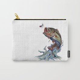Bass Fish Carry-All Pouch