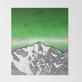 Hkakabo Razi Mountain Throw Blanket