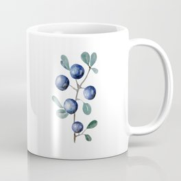 Blackthorn Blue Berries Coffee Mug