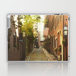 Cobbled crossroads Laptop & iPad Skin