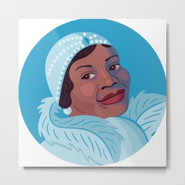 Queer Portrait - Bessie Smith Metal Print