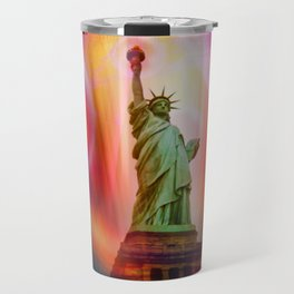 New York NYC - Statue of Liberty 2 Travel Mug