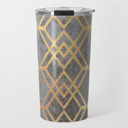 Glam Geometric Travel Mug