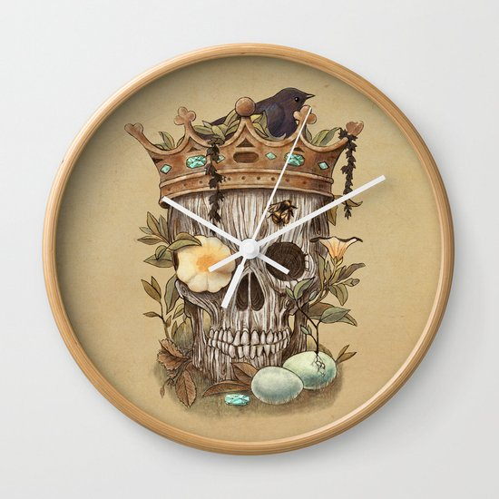 Nature's Reign  Wall Clock