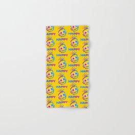 3D HAPPY Hand & Bath Towel