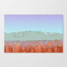 Muteland Canvas Print