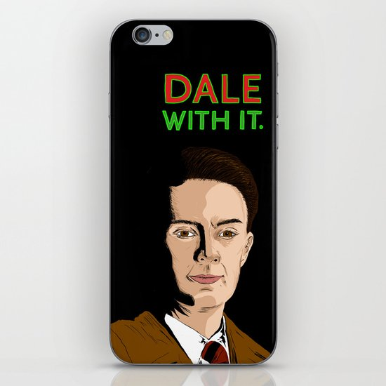 DALE WITH IT. iPhone Skin
