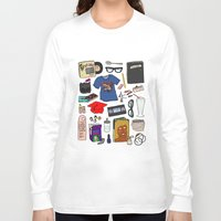 ghost world Long Sleeve T-shirts featuring Ghost World by Shanti Draws