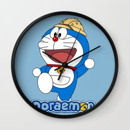 Doraemon - Worker Wall Clock