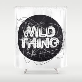 Wild Thing Shower Curtain
