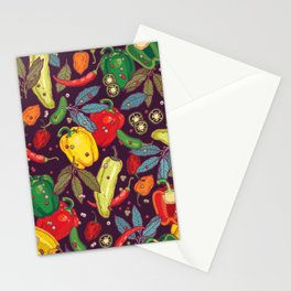 Hot & spicy! Stationery Cards