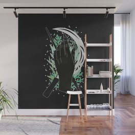 Run - Illustration Wall Mural