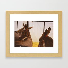 Ass Framed Art Print