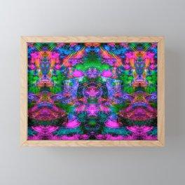 Ultraviolet Totem III Framed Mini Art Print
