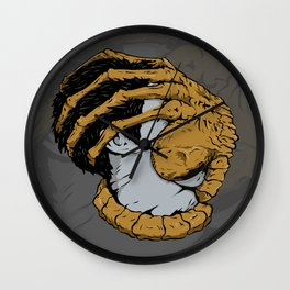 where is my face Wall Clock