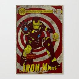Iron Man Comic Book Cover Canvas Print
