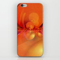 outer space iPhone & iPod Skins featuring Outer Space by Christine baessler
