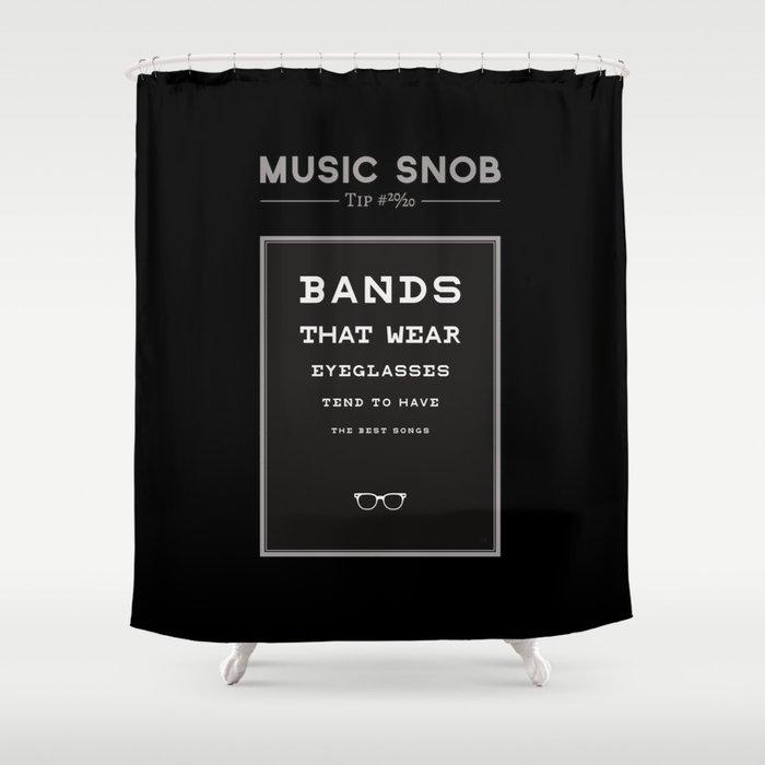 LEGALLY Fourth Eye Blind — Music Snob Tip #20/20-ish Shower Curtain