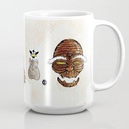 Make the Unlikeliest of Friends, Wherever You Go 2 Coffee Mug