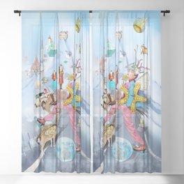 Xmas2 Sheer Curtain