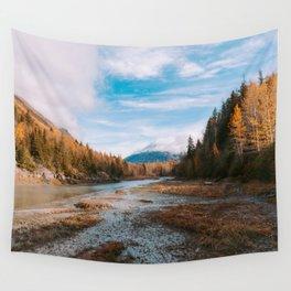 Autumn at Bird Creek Wall Tapestry