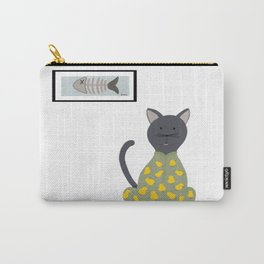 Cat in a Onesie Carry-All Pouch