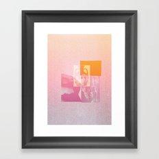 Portland Vase in Pink Framed Art Print