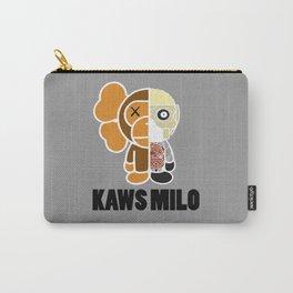 Kaws Milo Grey Carry-All Pouch
