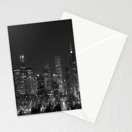 Denver All Aglow B & W Stationery Cards