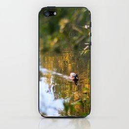 Duck pond iPhone Skin