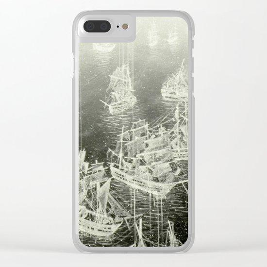 """Fog Bank"" Clear iPhone Case"