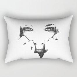 Cold Angel Rectangular Pillow