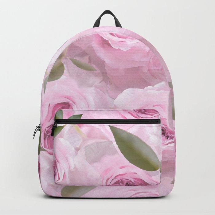 Pink Roses - Romantic mood - #Society6 #buyart #pivivikstrm Backpack