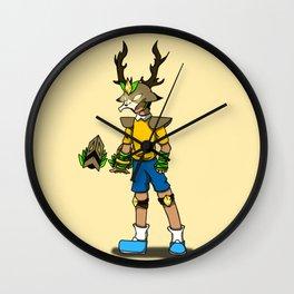 Nobita Mask Wall Clock