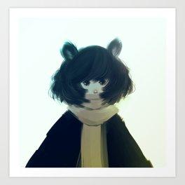 Warm Fur Art Print