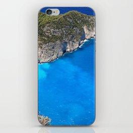 crystal greece iPhone Skin