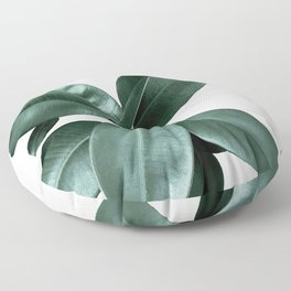 Rubber fig Plant Floor Pillow